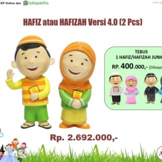 Hafiz Hafizah Doll 2Pc