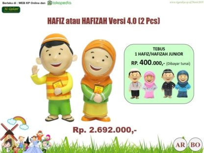 Hafiz Hafizah Doll 2Pc