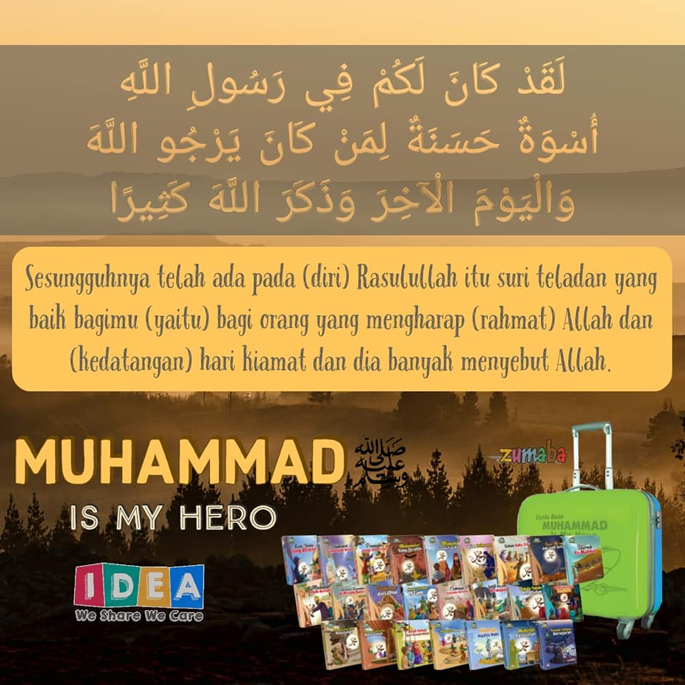 Muhammad Is My Hero.hafizdoll.id