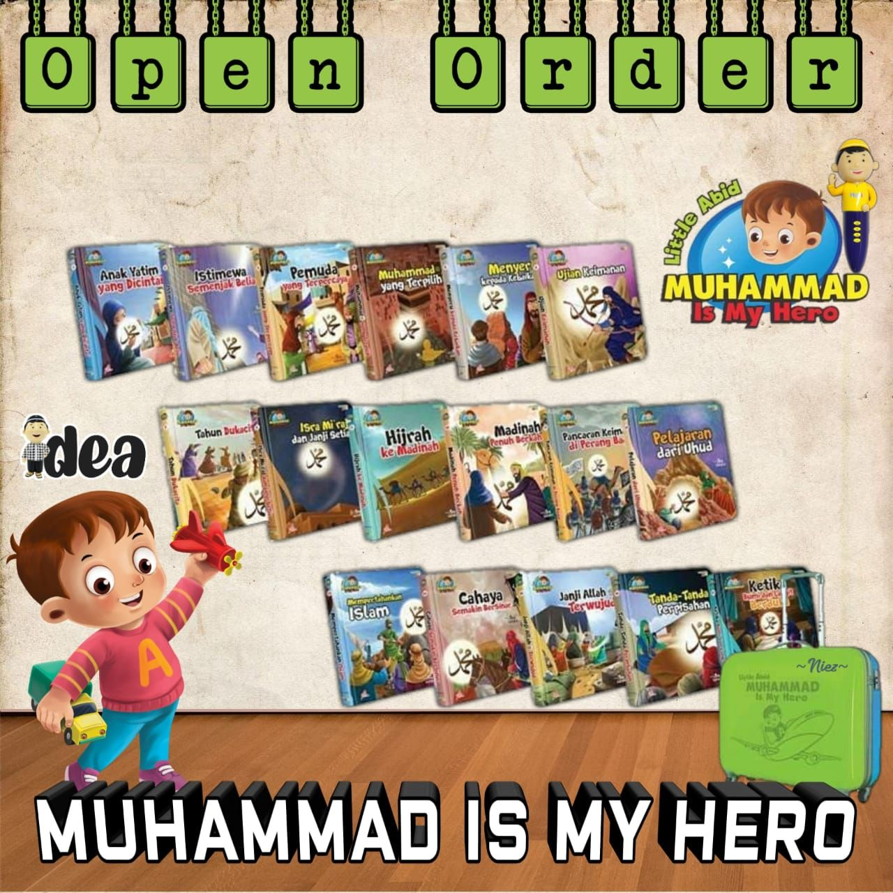 Muhammad is my hero