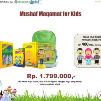 Mushaf Maqamat For Kids tebus Hafiz Hafizah Junior