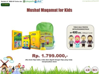 Mushaf Maqamat For Kids tebus Hafiz Hafizah Junior