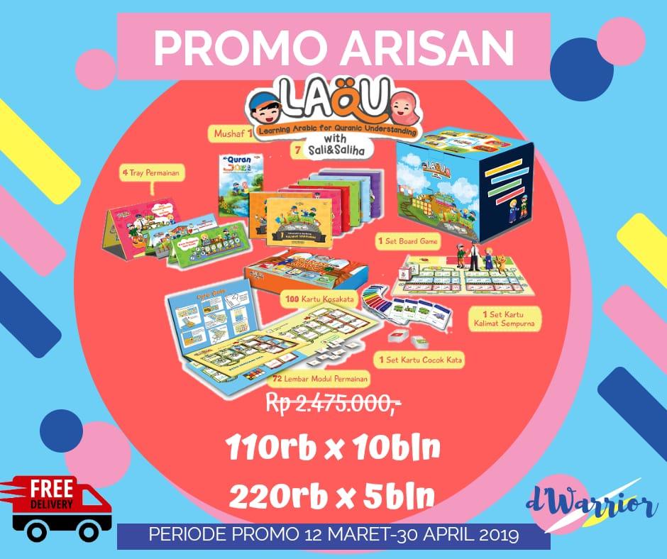Promo arisan LAQU