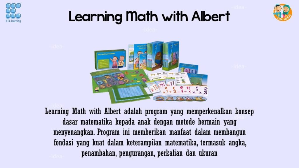 Learning Math With Albert