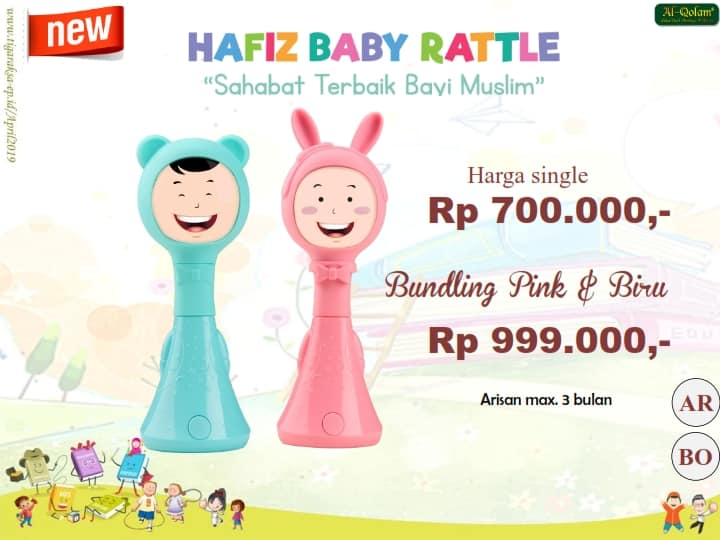 PROMO APRIL Hafiz Baby Rattle