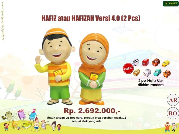 PROMO APRIL Hafizdoll 2 pc