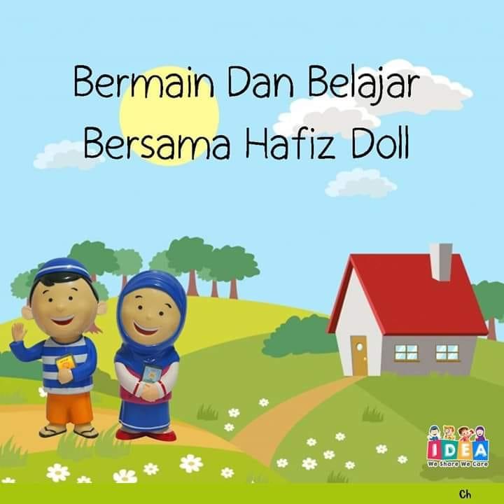 Belajar dan bermain bersama Hafiz Doll
