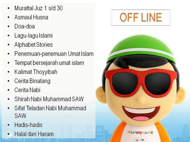 Fitur Offline Super Hafiz