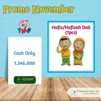 Promo November 2019 ; Hafiz / Hafizah Doll (1Pc)
