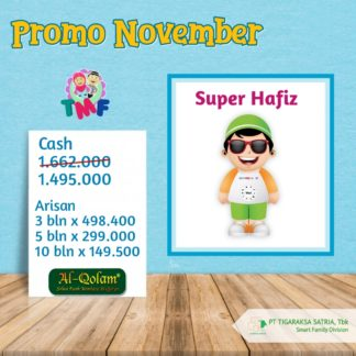 Promo November 2019 ; Super Hafiz