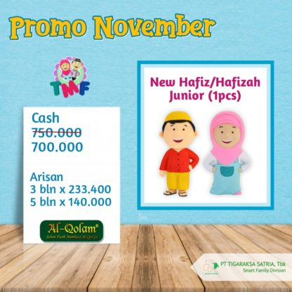 Promo November 2019 ; New Hafiz / Hafizah Junior (1Pc)