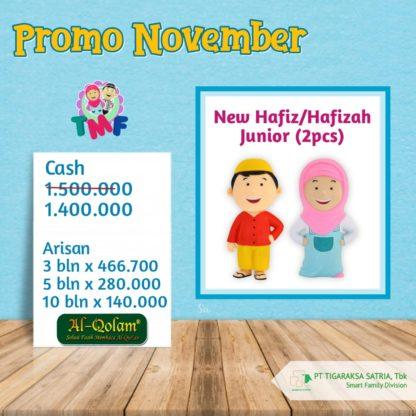Promo November ; New Hafiz / Hafizah Junior (1 Pc)